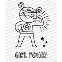Paper Rose Stamp Set - Girl Power