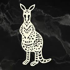 Couture Chipboard - Traditional Kangaroo