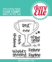 Avery Elle Stamp Set - World's Greatest