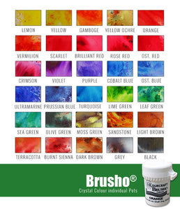 Brusho Powder - Water Based Colours