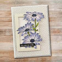 Paper Rose Stamp Set - Daisy Bouquet
