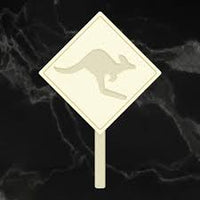 Couture Chipboard - Kangaroo Sign