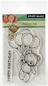 Penny Black Stamp Set - Balloon Ride