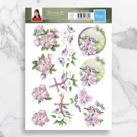 Jeanine's Art Decoupage Pack - Violet Birds
