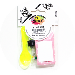 Art Glitter Pins Kit
