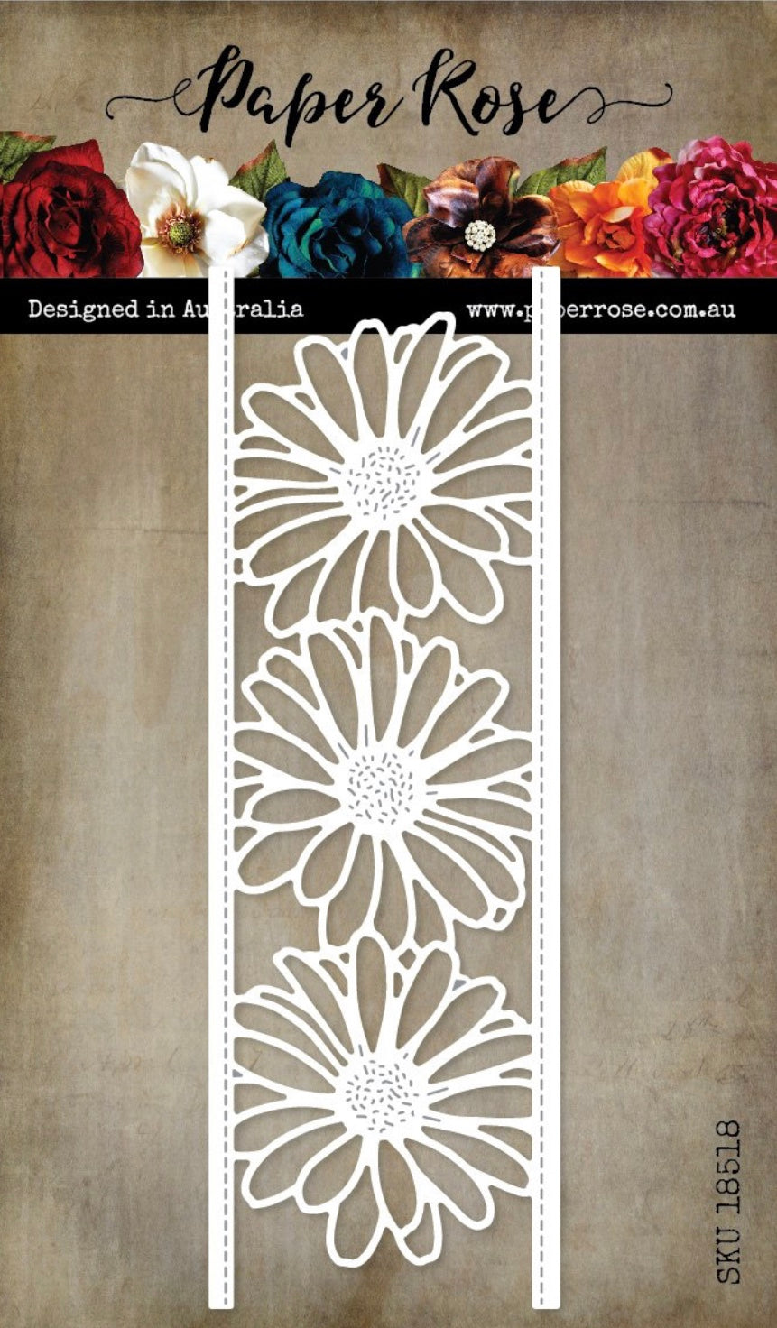 Paper Rose Die - Daisy Border
