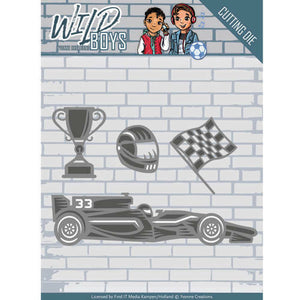 Yvonne Creations Die Set - Racing
