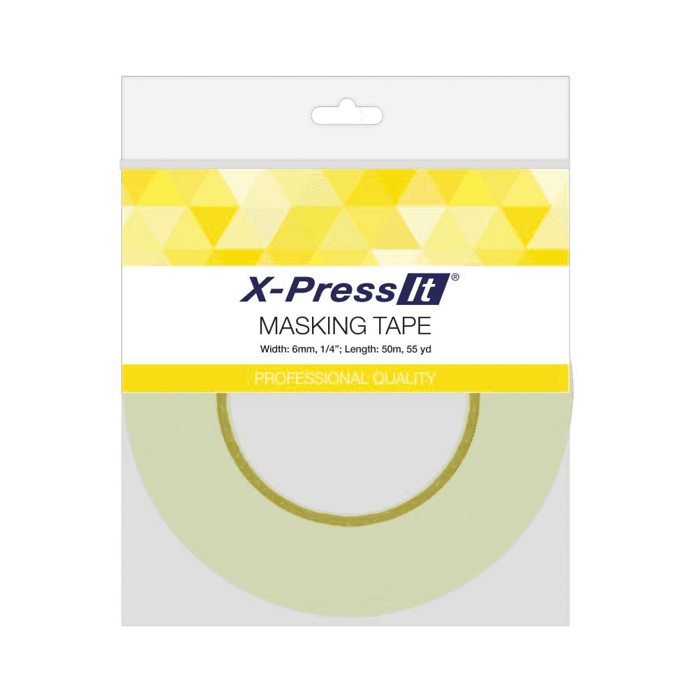 X-Press It Masking Tape - 6mm x 50m