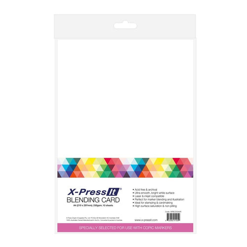 X-Press Blending Card A4 - 250gsm (25)