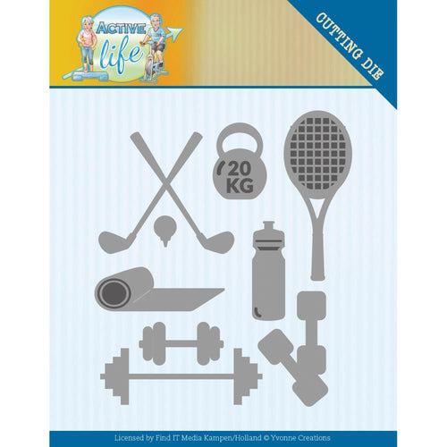 Yvonne Creations Die Set - Active Sports
