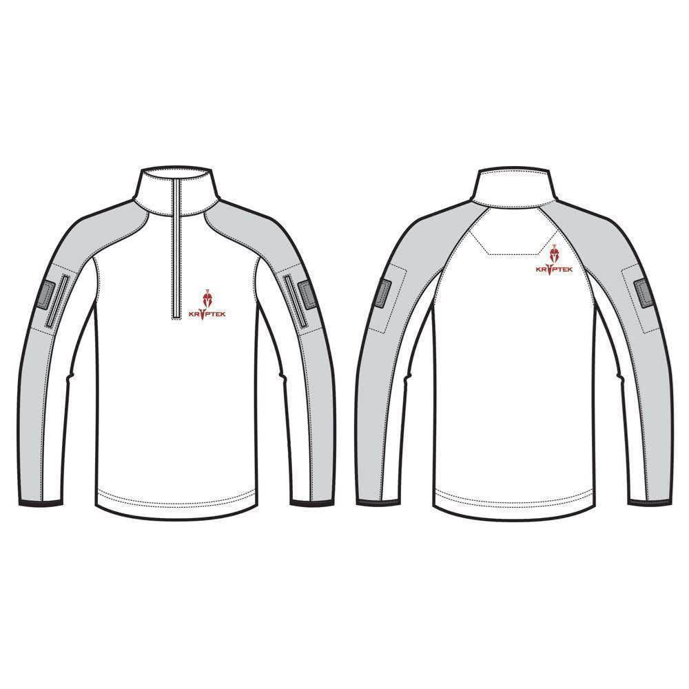 Kryptek Valhalla Long Sleeve Zip Detail