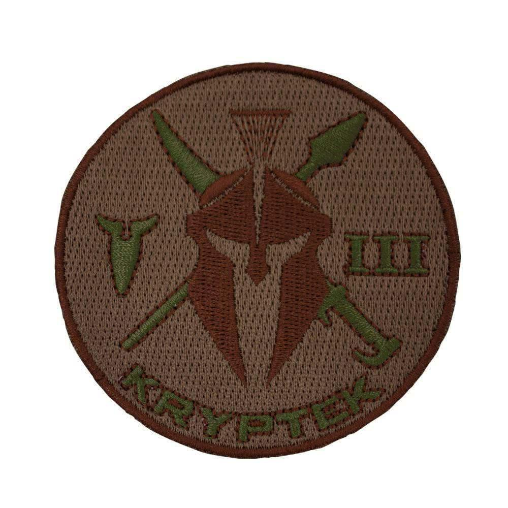 Kryptek Valhalla Long Sleeve Zip Patch Detail