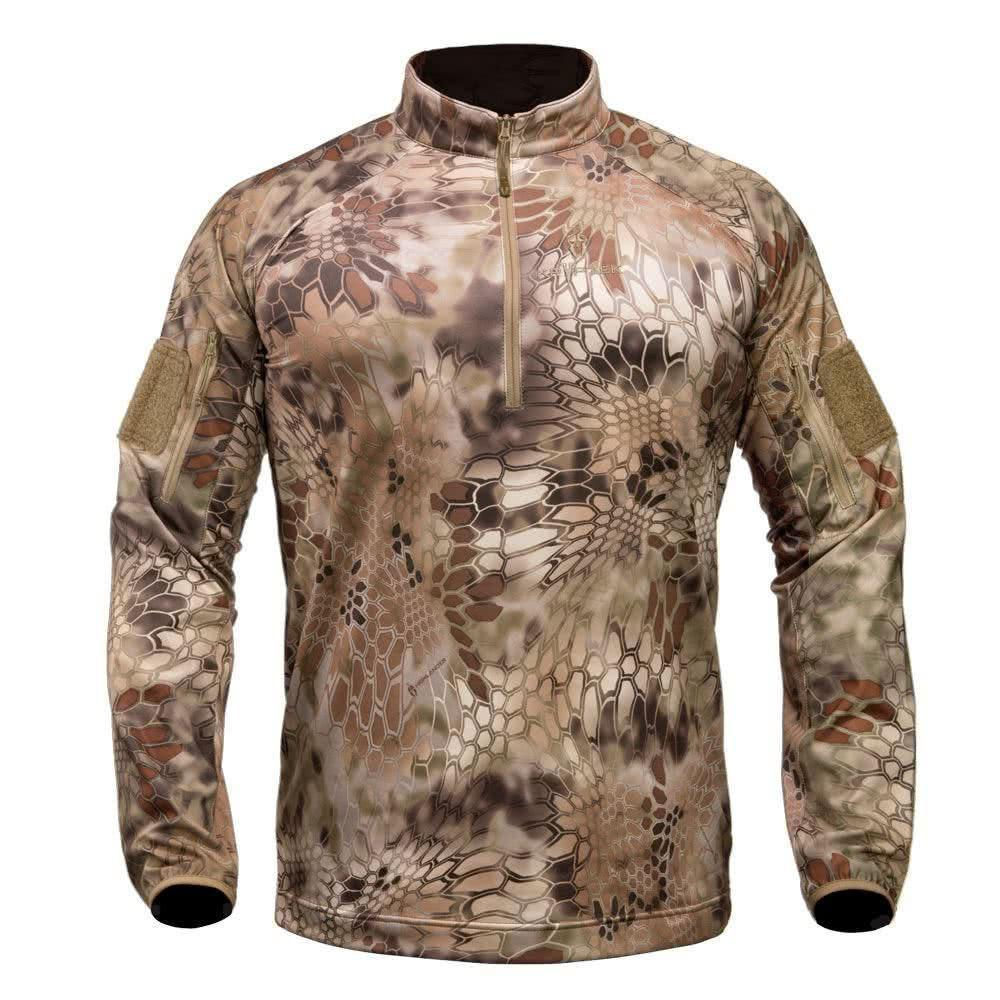 Kryptek Valhalla Long Sleeve Zip