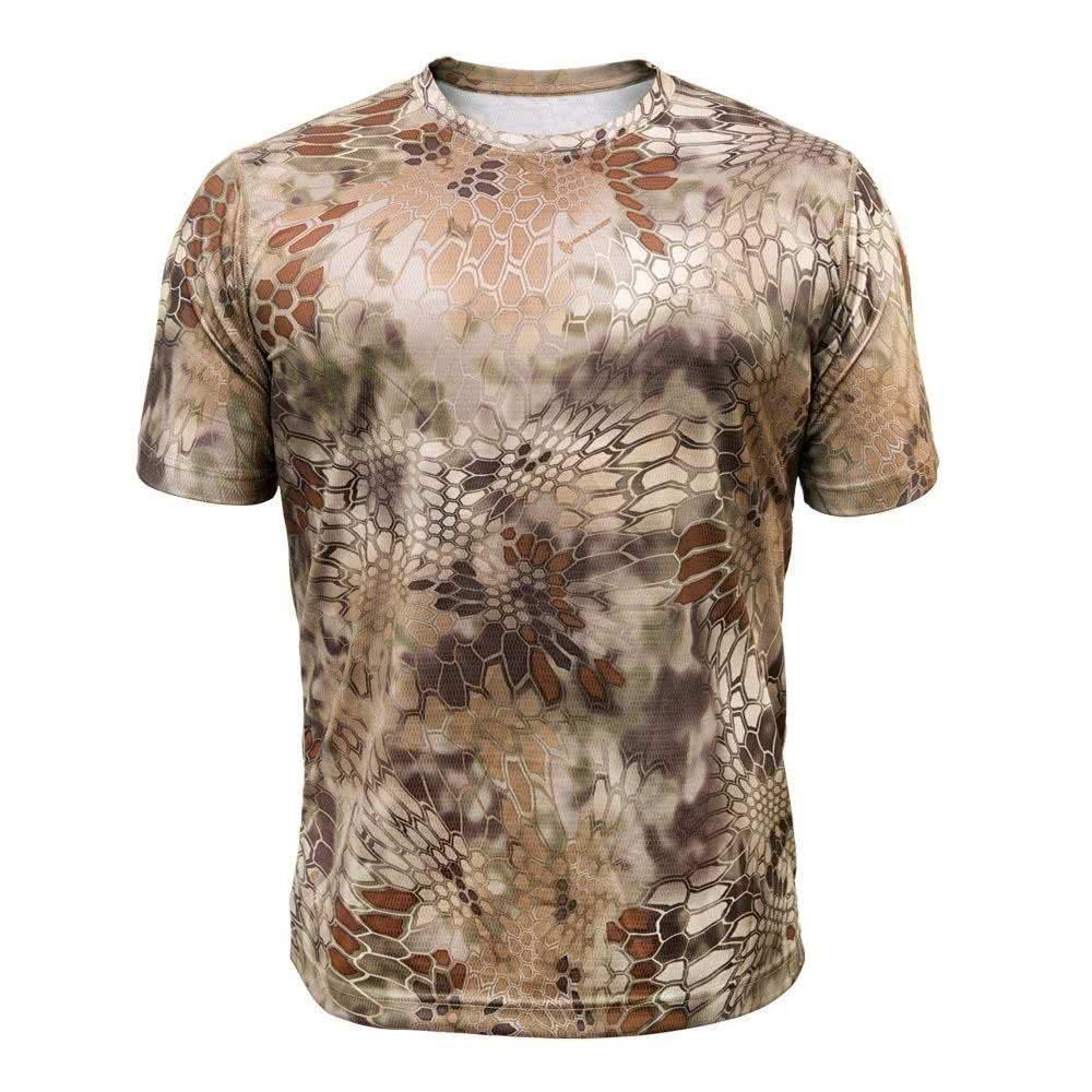 Kryptek Hyperion Short Sleeve Shirt Highlander Front
