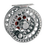 3-TAND T-70 Big Game Fly Reel Titanium Grey Front
