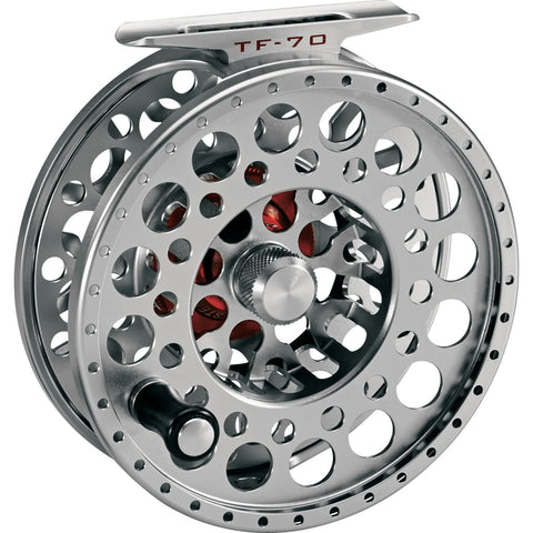 3-TAND TF 70 Lightweight Fly Reel Titanium Grey Front