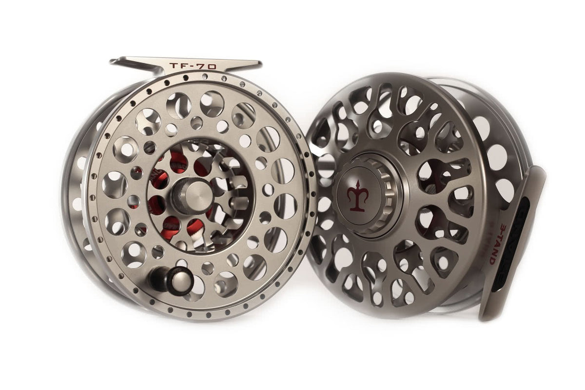 3-TAND TF-70 Lightweight Fly Reel Titanium Grey