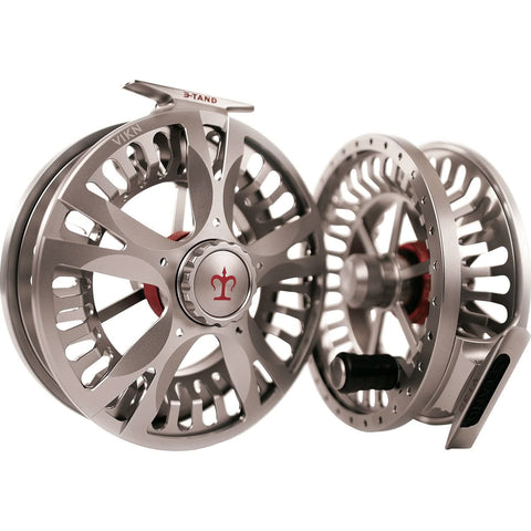 3-TAND VIXN V50 Ultra Large Arbor Fly Reel Titanium Grey