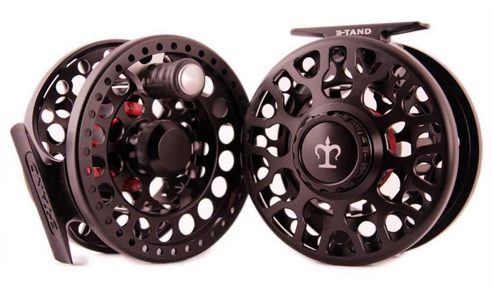 3-tand t-50 fly reel stealth black