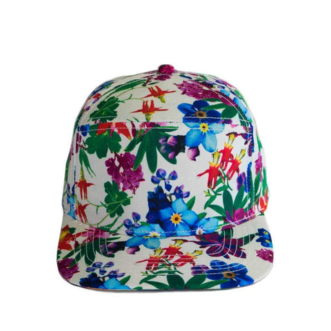 90 Left Ninety Left Alaska Wildflower Hat Front