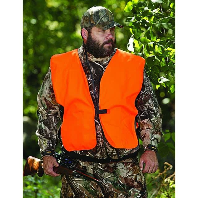 Allen Blaze Orange Hunting Vest In The Field