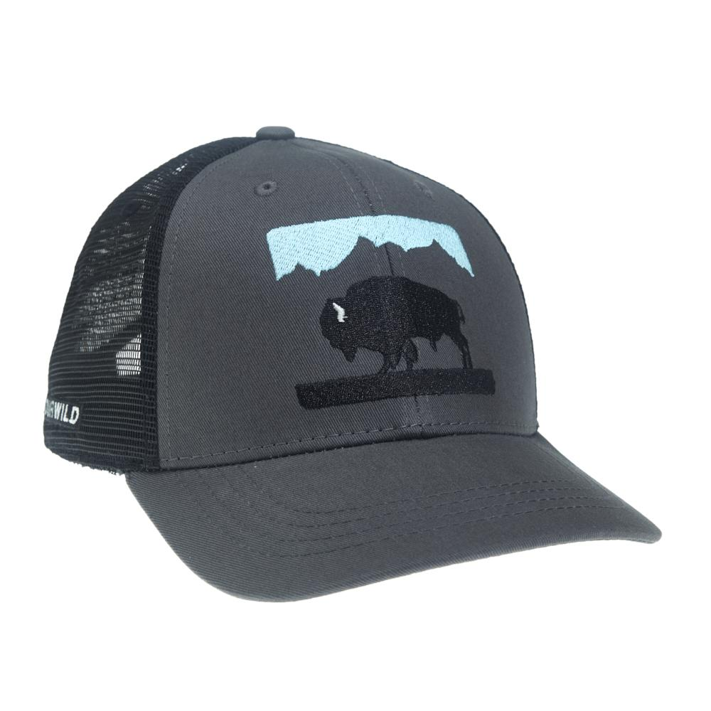 BISN51 RepYourWater Bison Hat Square Opt