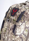 Badlands Packs Dash Hunting Pack Front Top Detail Approach Camo