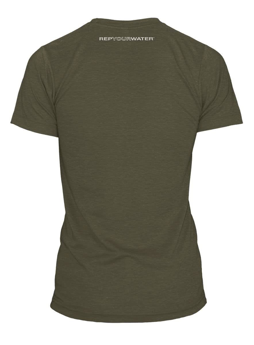 COCL91 RepYourWater Colorado Clarkii T-Shirt Green Back