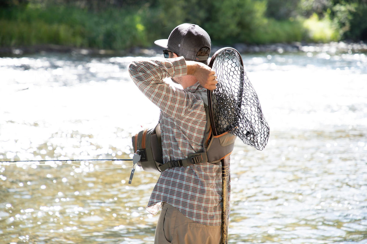 Fishpond Cross Current Chest Pack Back Getting The Net River