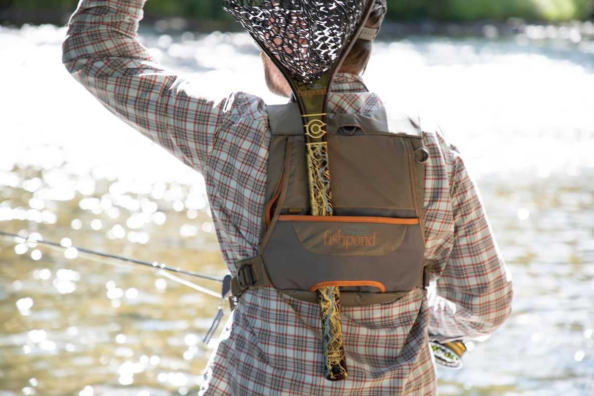 Fishpond Cross Current Chest Pack Back Getting The Net