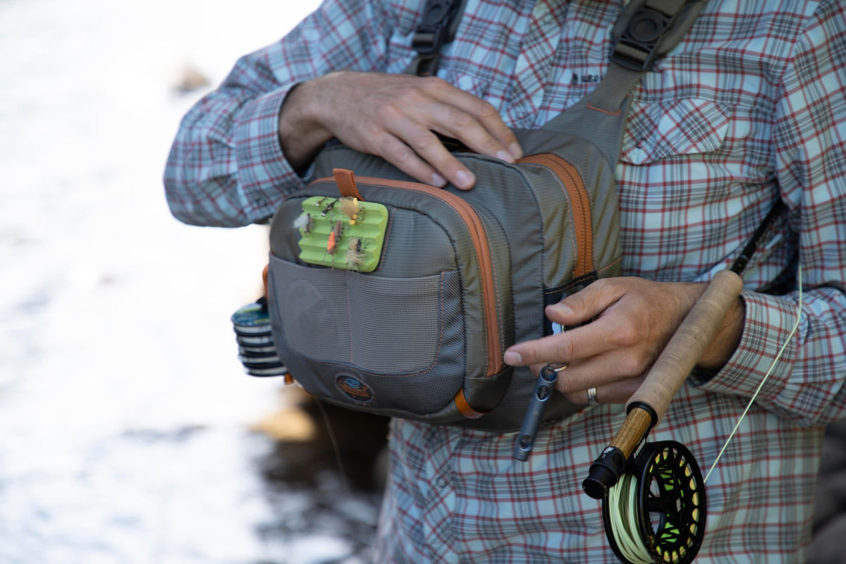 Fishpond Cross Current Chest Pack Front River