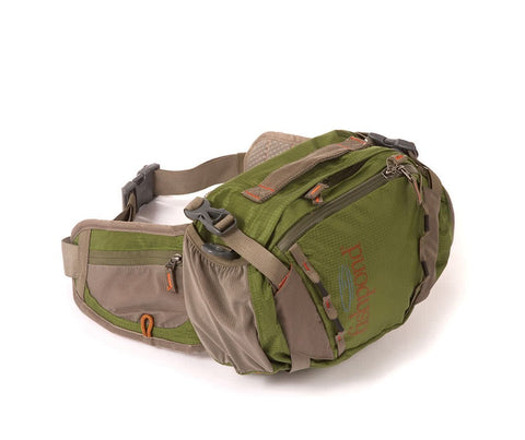 Fishpond Encampment Lumbar Pack Cutthroat Green Front