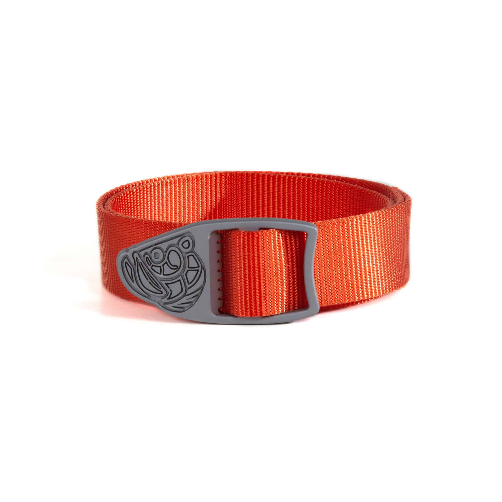 Fishpond King Webbing Belt Fly Fishing Travel Belt Coral Studio Shot