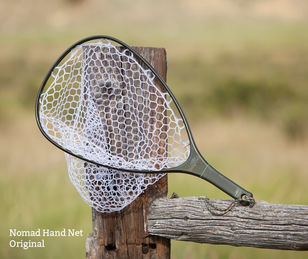 Fishpond Nomad Hand Net On Fence