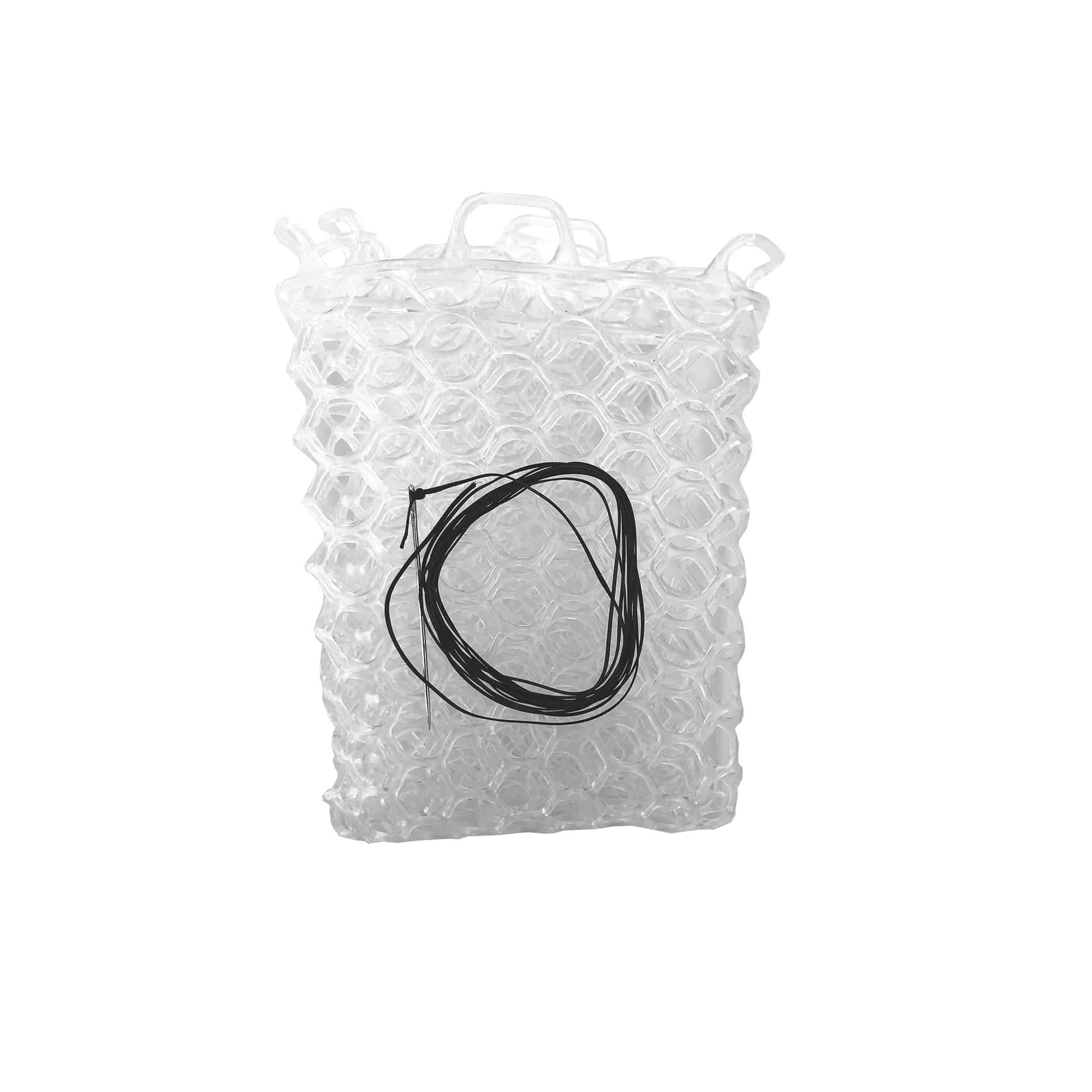 "Fishpond Nomad Native Net Replacement Rubber Net 12.5"" Clear"