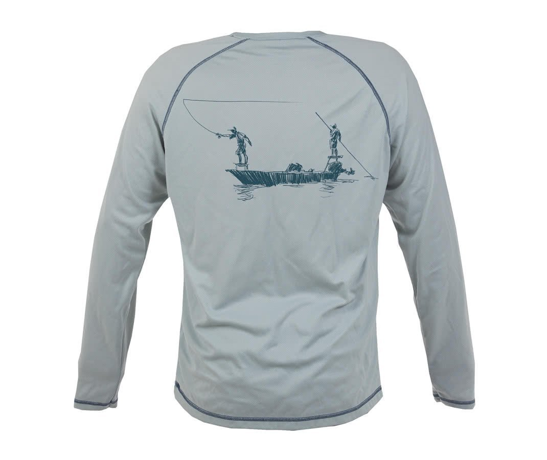 Fishpond Salty Dawgs Drift LS Shirt Back