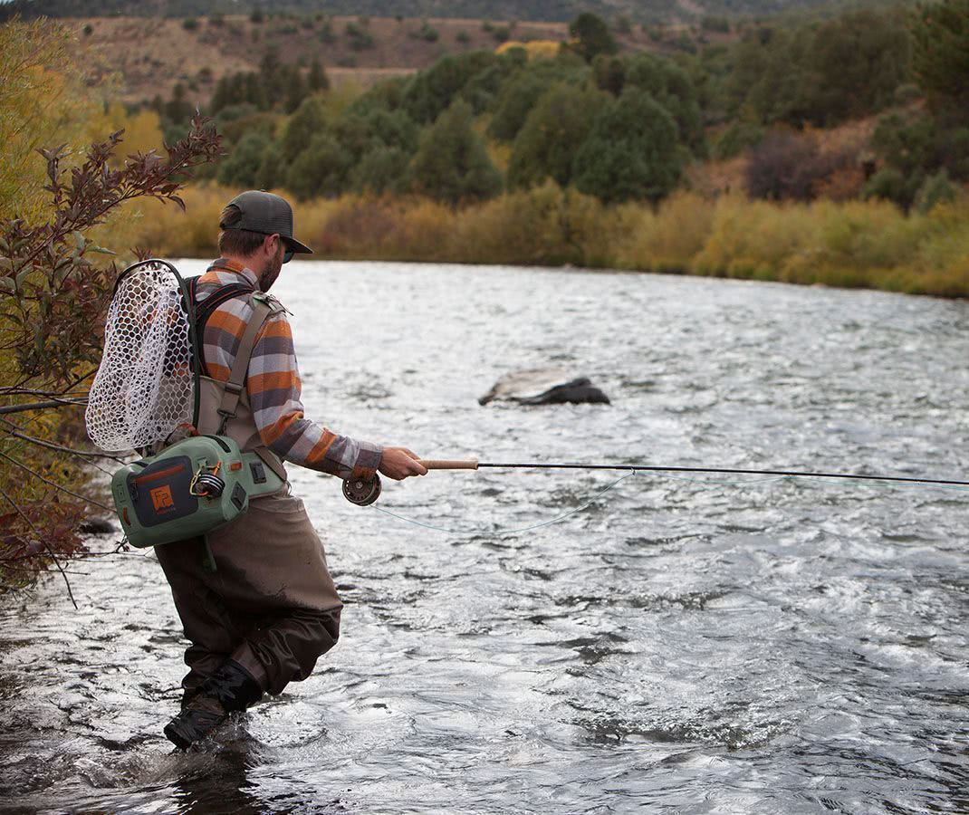 Fishpond Thunderhead Submersible Lumbar Pack Yucca On River