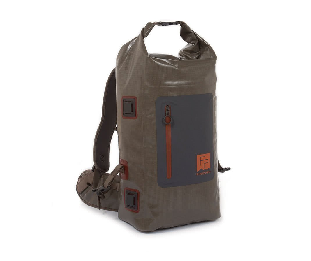 Fishpond Wind River Roll Top Backpack Back Rolled