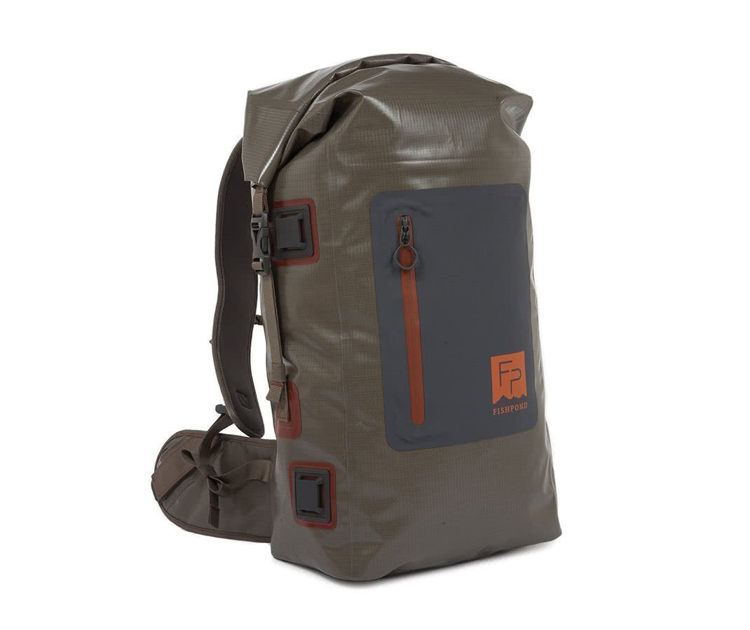 Fishpond Wind River Roll Top Backpack Back