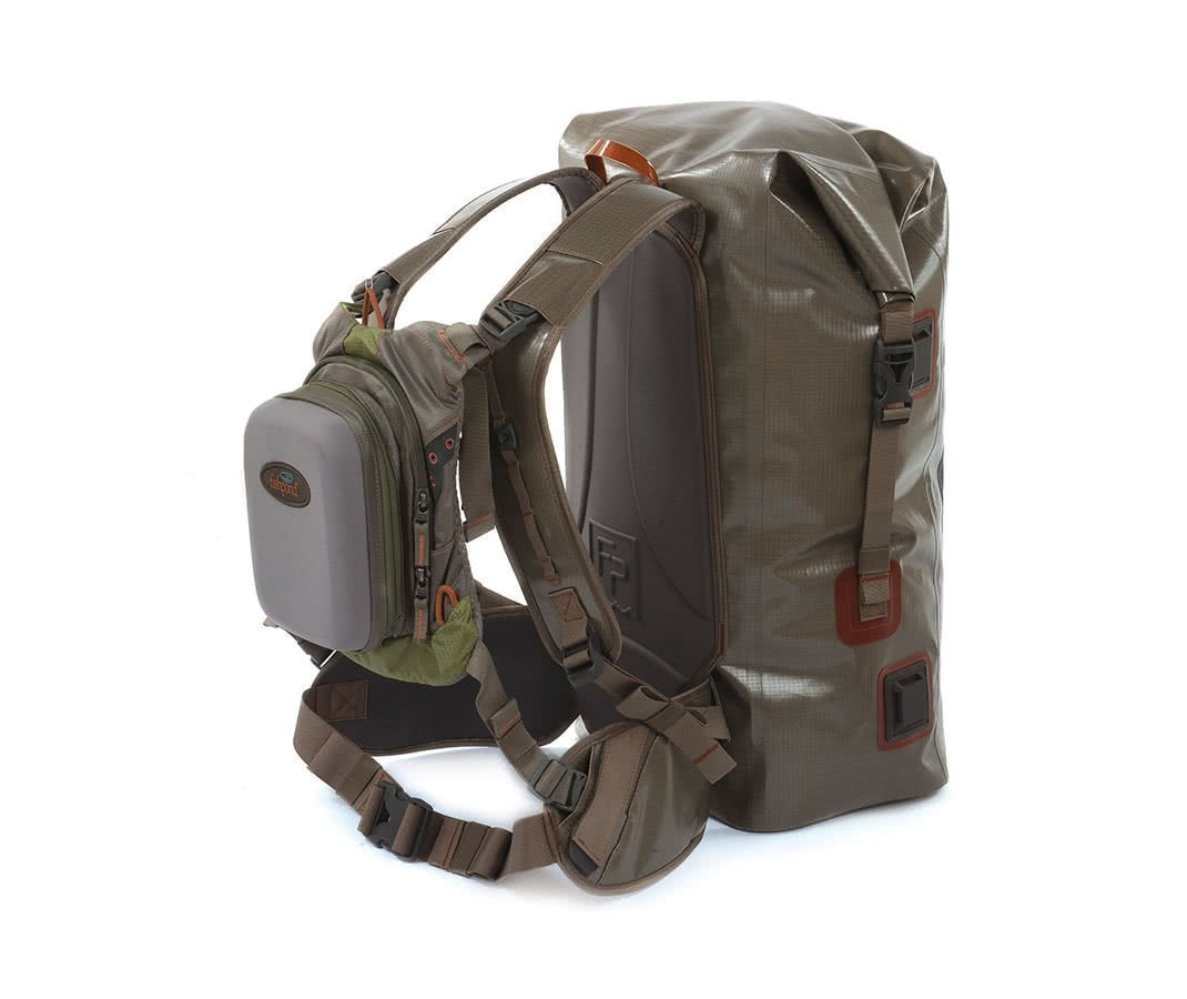 Fishpond Wind River Roll Top Backpack Sideview