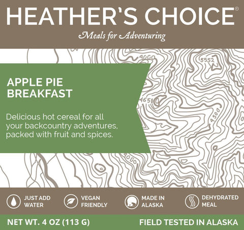 Heather's Choice Apple Pie Spiced Buckwheat Breakfast Package Front