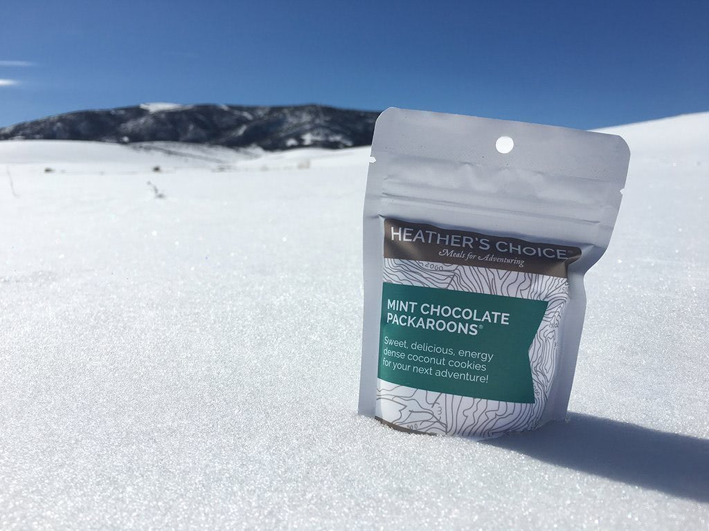 Heather's Choice Mint Chocolate Packaroons In The Field