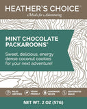 Heather's Choice Mint Chocolate Packaroons Package Front