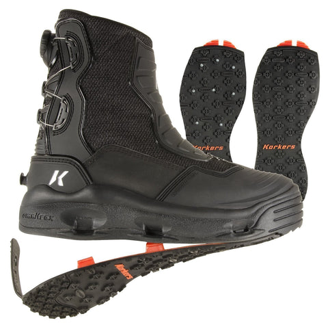 Korkers Hatchback Wading Boot Right