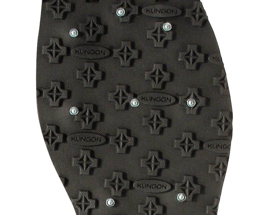Korkers Omnitrax 3.0 Studded Kling-On Sole Detail