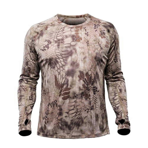 Kryptek Hoplite 2 II Merino Long Sleeve Crew Lightweight Shirt Highlander