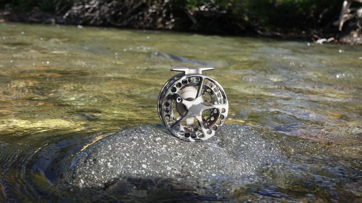Lamson LiteSpeed G5 Fly Fishing Reel Special Edition FIRSTLITE Fusion Camo On the River 1