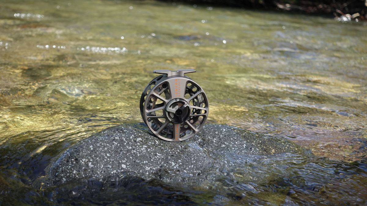 Lamson LiteSpeed G5 Fly Fishing Reel Special Edition FIRSTLITE Fusion Camo On the River