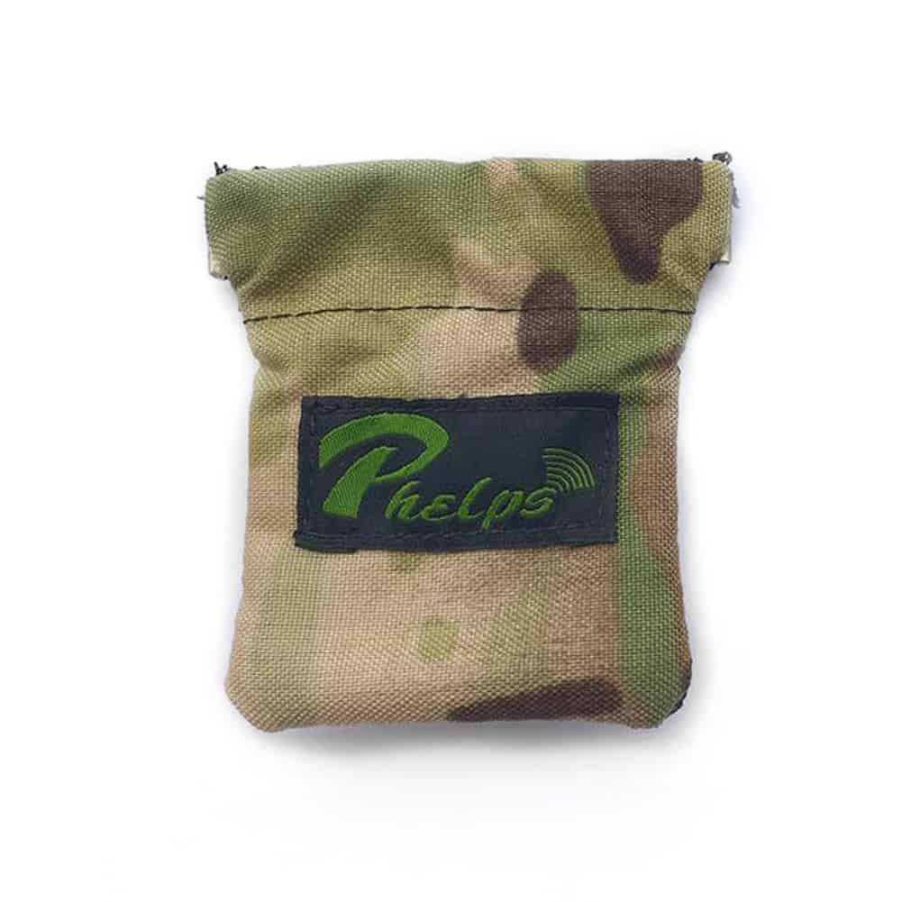 Phelps Game Calls Elk Hunting Diaphragm Call Pouch In Multicam Camoflauge