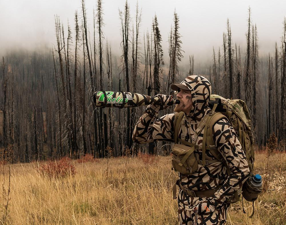 Phelps Game Calls Unleashed Elk Bugle Tube Multicam In Field